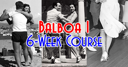 Swing Time's 6-Week Level-1 Balboa Course in Tampa, Balboa 1, at Simone Salsa studio