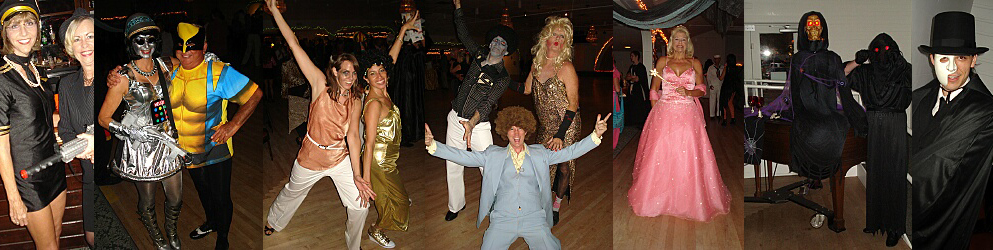Swing Time's Annual Halloween Costume Ball at the Gulfport Casino Swing Night